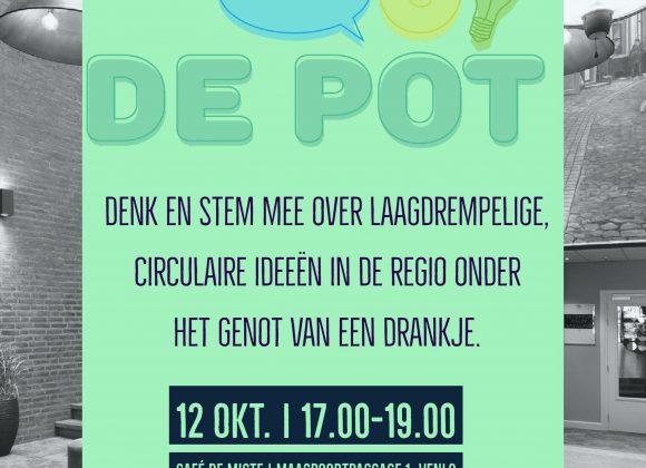 De Pot start op 12 oktober!